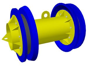 Поршень комбинированный манжетно-дисковый ПКМД
